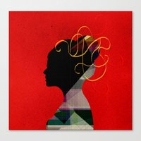 redhead Canvas Prints featuring Redhead by John Murphy