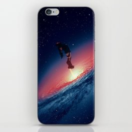 out of the portal iPhone Skin