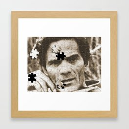 Pier Paolo Puzzle-ini Framed Art Print