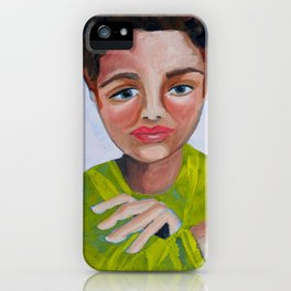 Ginny thinks twice. iPhone Case