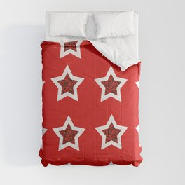 red star 6 Comforters