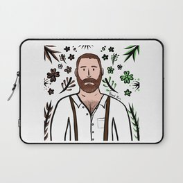 Beard Boy: Michael Laptop Sleeve