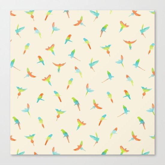 Parrots ! Papagei ! Canvas Print