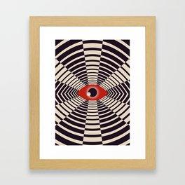 The All Gawking Eye Framed Art Print