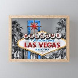 Welcome to Fabulous Las Vegas Framed Mini Art Print
