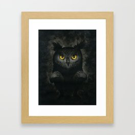 All the night Framed Art Print