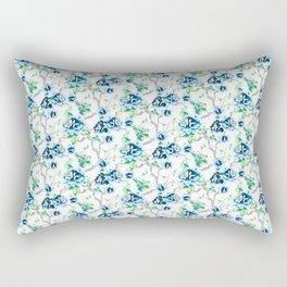 Tropical Blue Rectangular Pillow