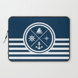 Sailing symbols Laptop Sleeve