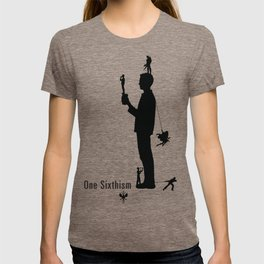 One Sixth Ism (Black Statue) T-shirt