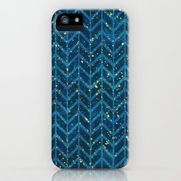 Golden Nights iPhone Case