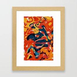 Pattern № 4 Framed Art Print