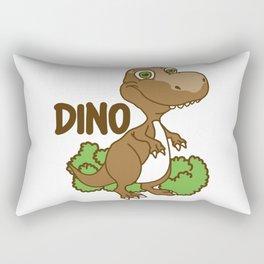 Dino Kids Rectangular Pillow