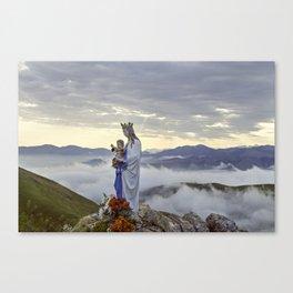 Vierge d'Orisson; Camino Frances Canvas Print