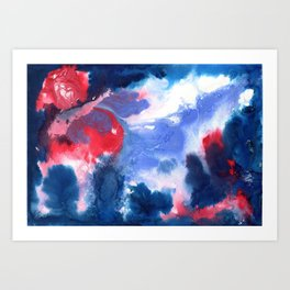 The Ether Art Print