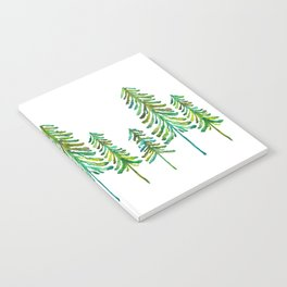 Pine Trees – Green Palette Notebook