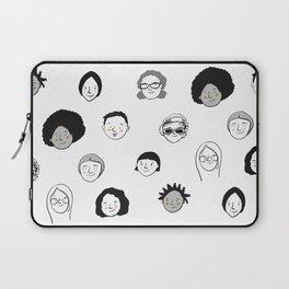 Women's faces Laptop Sleeve