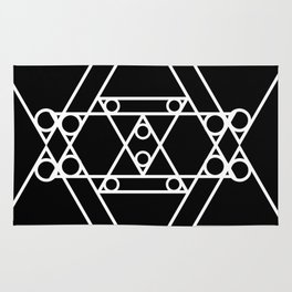 Triangle Rivets Rug