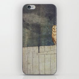 Whoo Goes There? iPhone Skin