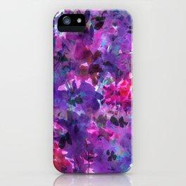 Violet Fields iPhone Case