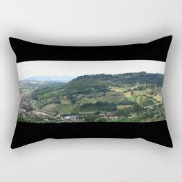 Assissi, Italy. 2005. Rectangular Pillow