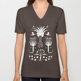 Abundance in Black Unisex V-Neck