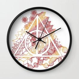 Death Hallow Lion Wall Clock