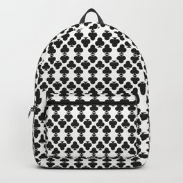 Playing Cards: Club Pattern Backpack