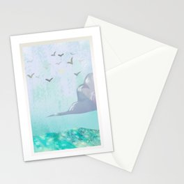 Seaside Painting Card Stationery Cards