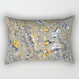 Liquid Abstract 14 Rectangular Pillow