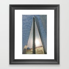 The Freedom to Rise to Staggering Heights Framed Art Print