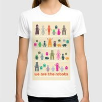 robots T-shirts featuring Robots by ALL TYPE _ Marcio Pontes