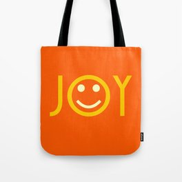 JOY inspired SMILEY Face Tote Bag
