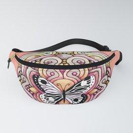 Yin Yang Butterfly Fanny Pack