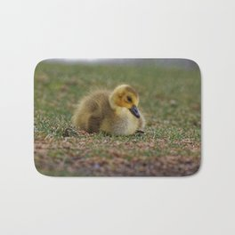 Sleepy Gosling Bath Mat