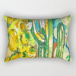 Paula Blanco Rectangular Pillow