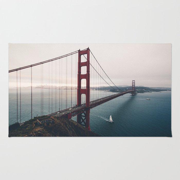 Golden Gate Bridge - San Francisco, CA Rug