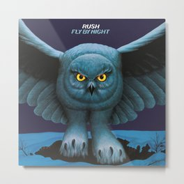 Rush Fly By Night Metal Print