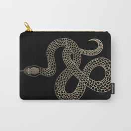 Vintage line snake Carry-All Pouch