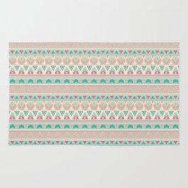 Ethnic , ornament , tribal , pastel Rug