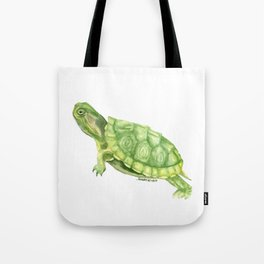 Turtle Watercolor Tote Bag