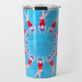 Synchronized Swimmers Travel Mug