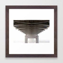 Underside Framed Art Print