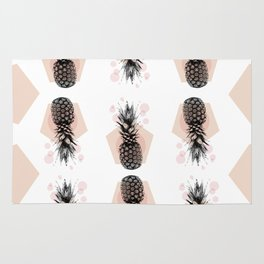 Pineapple and geometricos Rug