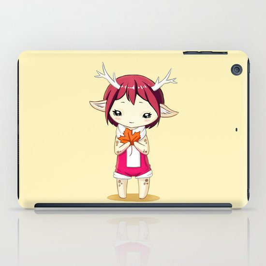 Deer Girl iPad Case