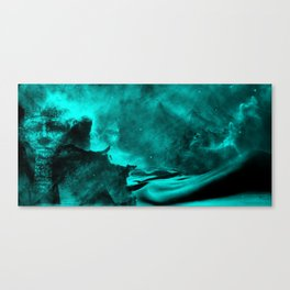 Sands of the Cosmos - Teal Canvas Print