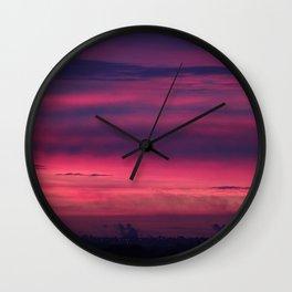 Urban Dawn Wall Clock