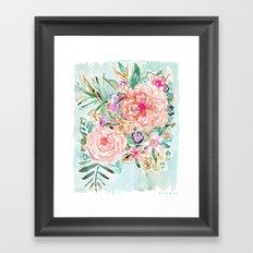 SMELLS LIKE BEACH DAY Framed Art Print