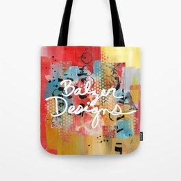 Logo Artwork Tote Bag