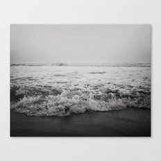 Ocean Crash Canvas Print