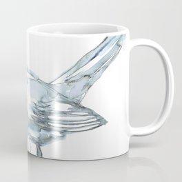Nightingale Watercolor Sketch Coffee Mug